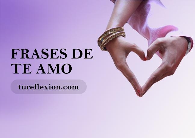 Frases De Te Amo Para Declarar El Amor Tu Reflexión