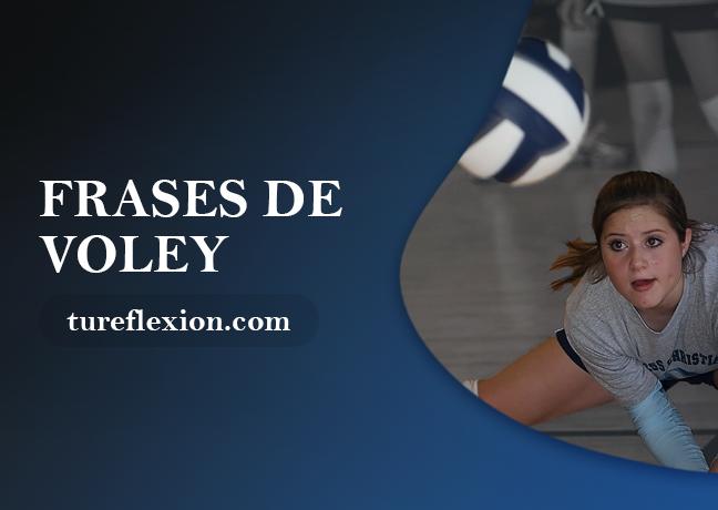 Motivadoras Y Deportivas Frases De Voleibol Tu Reflexión